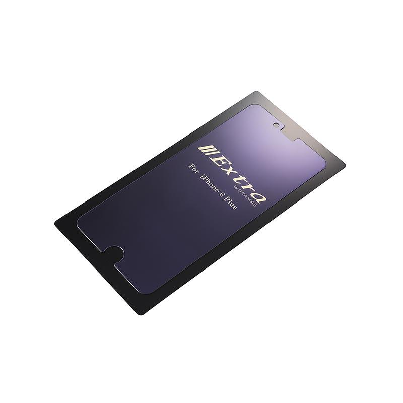 Extra by GRAMAS Blue Light Cut Glass EXIP6LBC for iPhone 6s Plus / iPhone 6 Plus イメージ②