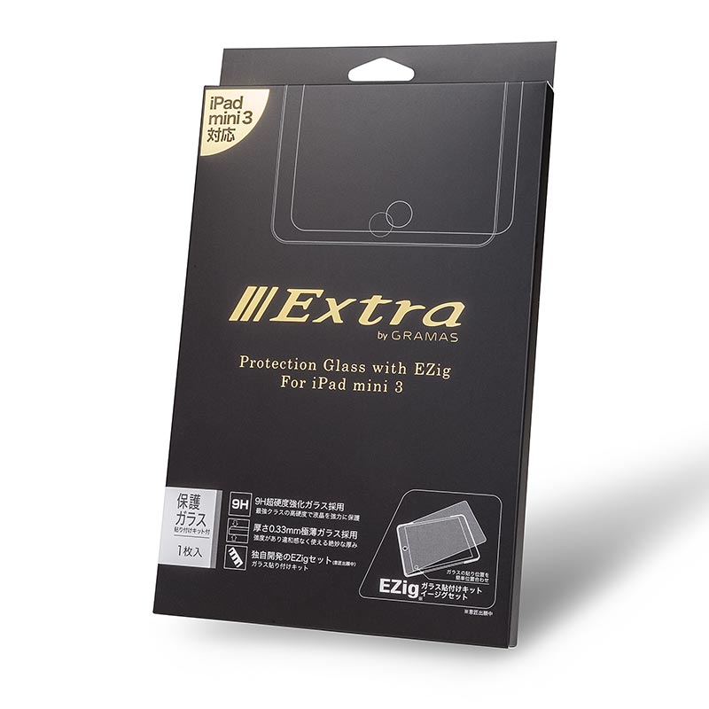EXTRA by GRAMAS Protection Glass 0.33mm EXIPMNM for iPad mini / mini 2 / mini 3 イメージ⑤