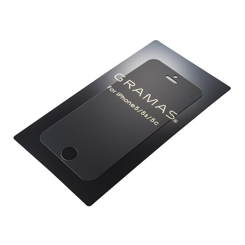 GRAMAS EXTRA Anti-Glare Glass for iPhone SE / 5s / 5c / 5