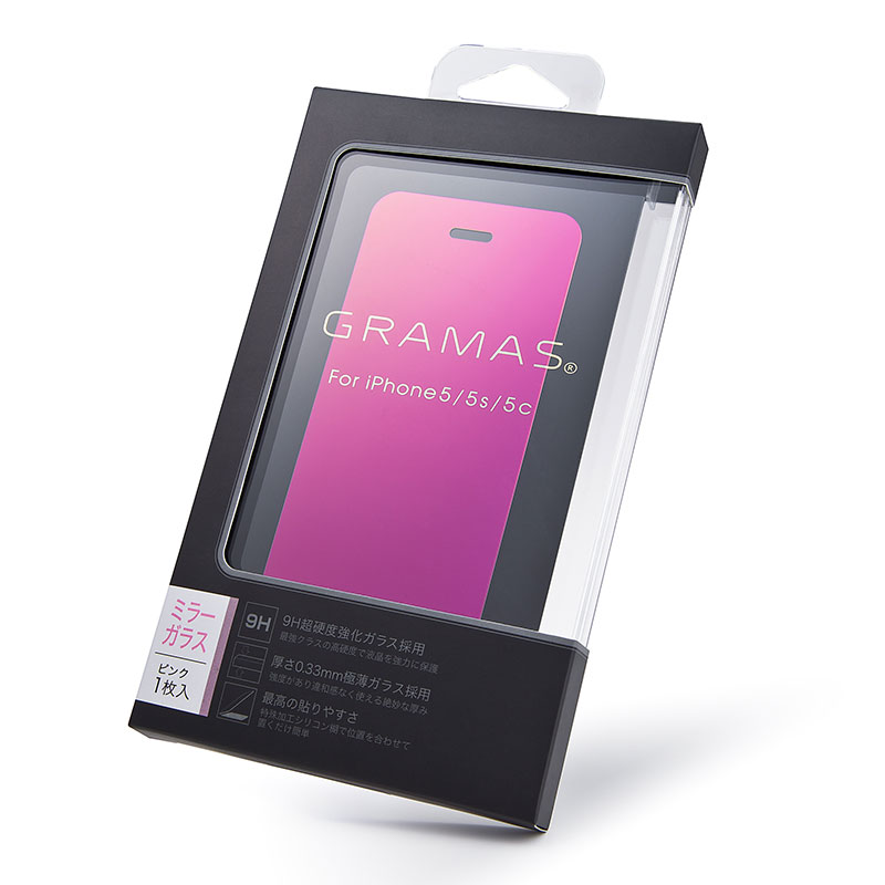 GRAMAS EXTRA Mirror Glass MGIP5 for iPhone SE / 5s / 5c / 5 イメージ⑩